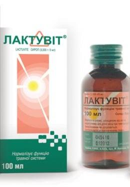 Лактувит сироп 3.335 г/5 мл по 100 мл во флак. полим.