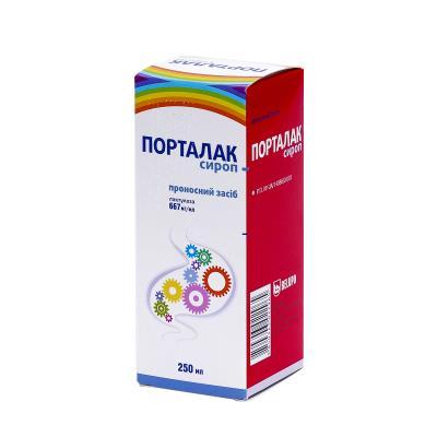 Порталак сироп 667 мг/мл по 250 мл во флак.