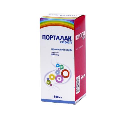 Порталак сироп 667 мг/мл по 500 мл во флак.