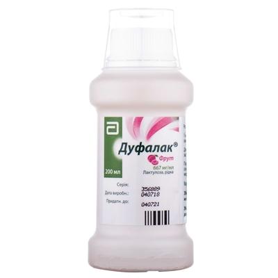 Дуфалак фрут раствор ор. 667 мг/мл по 200 мл в бутыл.
