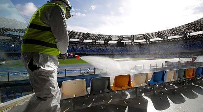 Подсчитано сколько потерял футбол на пандемии коронавируса