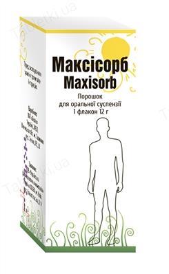 Максисорб порошок д/ор. сусп. по 12 г во флак.