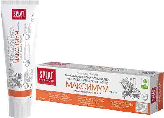 Зубная паста Splat Professional Максимум, 100 мл