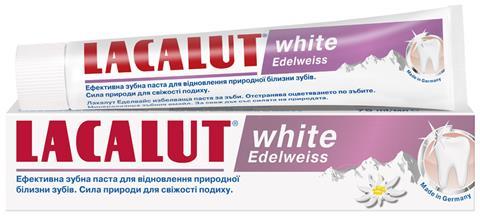 Зубная паста Lacalut White Edelweiss, 75 мл