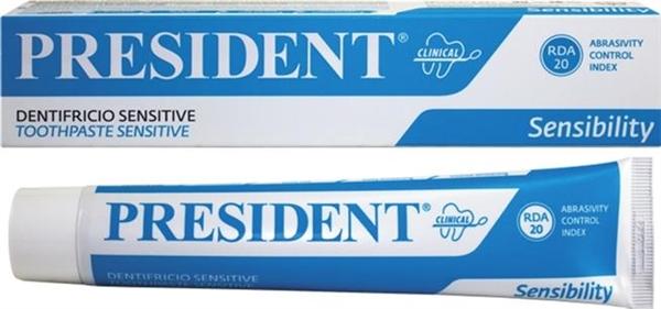 Зубная паста President Clinical Sensitive, 75 мл