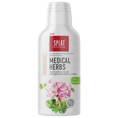 Ополаскиватель для полости рта Splat Professional Medical herbs, 275 мл