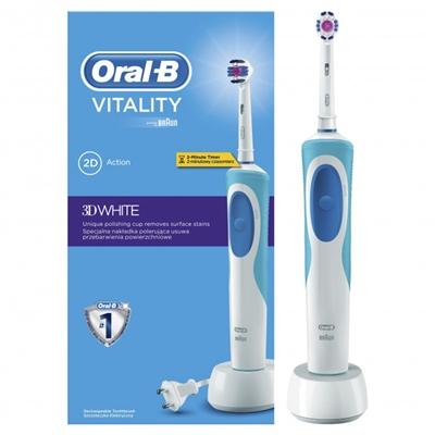 Электрическая зубная щётка Oral-B Vitality 3D White, 2D Action