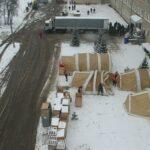 Для ковид-больных на Прикарпатье разворачивают мобильный госпиталь (ФОТО, ВИДЕО)