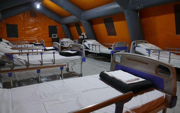 ГСЧС показала готовый COVID-госпиталь на Прикарпатье (КАДРЫ)