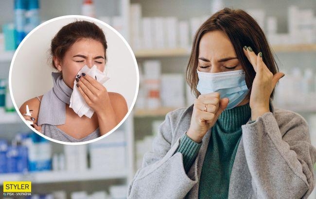 ОРВИ легко спутать с коронавирусом: врач назвал самые точные симптомы