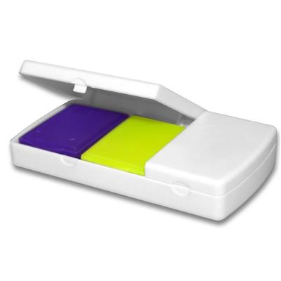 Органайзер пластиковый Enjee РТ 6008 для таблеток с разделителем