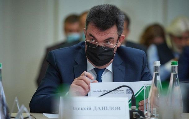 Глава СНБО Данилов анонсировал указ о вакцинации