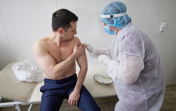 Президент призывает ускорить темпы вакцинации от COVID в Украине