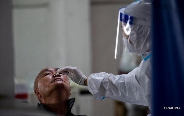 В Китае рекордный за два месяца прирост коронавируса