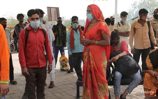 В Индии рекордное число COVID-заболевших за сутки