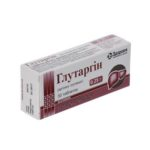 Глутаргин таблетки по 0.25 г №30 (10х3)