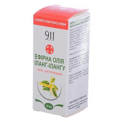 911 масло эфирное Иланг-иланг по 10 мл во флак.