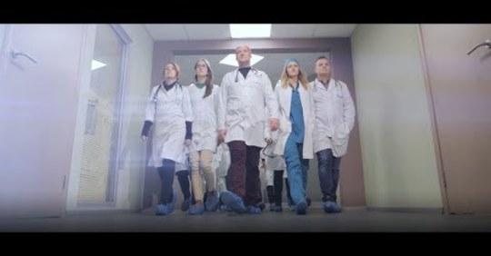 Украинские врачи зачитали рэп, чтобы пациэнты ответственно ставились к употребелнию антибиотиков (ВИДЕО)