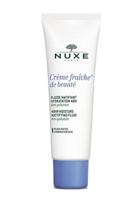 Флюид Nuxe Cream Fresh матирующий 48 часов для лица, для комбинированной кожи, 50 мл