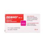 Лефно таблетки, п/о по 20 мг №30 (10х3)