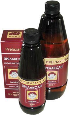 ПРЕЛАКСАН сироп 66.7 г/мл по 400 г во флак.