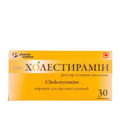 Пмс-холестирамин регуляр со вкус апельсина