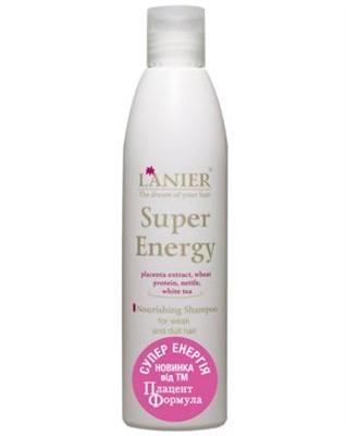 Шампунь Placen Formula Lanier Супер Энергия для питания волос, 250 мл