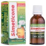 Симетикон капли ор. 40 мг/мл по 30 мл во флак.