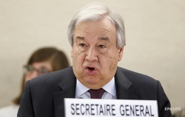 Генсек ООН заявил, что коронавирус вышел из-под контроля
