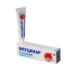 Флуцинар мазь 0.25 мг/мл по 15 г в тубах
