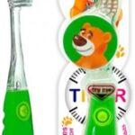 Зубная щетка Dentissimo Kids Timer от 3 до 6 лет, мягкая, 1 штука
