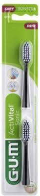 Сменная головка для зубной щетки GUM Activital Sonic Power, 2 штуки