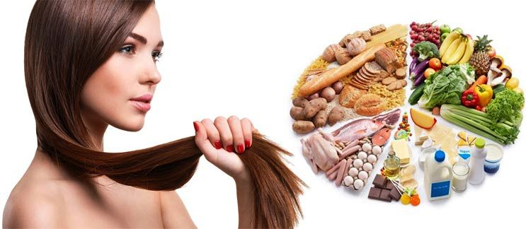 Диета для волос — что есть для роста волос