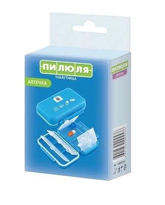 Органайзер пластиковый Пилюля Таблетница Аптечка