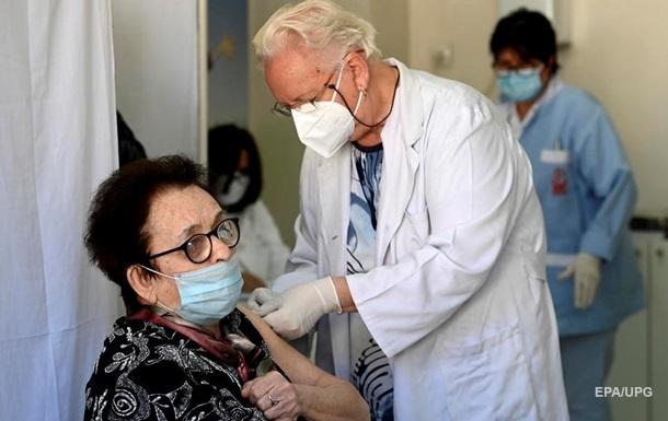 В Европе две дозы COVID-вакцины получили 4% населения