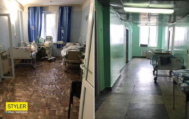 """В сети шокировали рассказом о ситуации в киевской COVID-больнице: """"лютая жесть"""" (ФОТО)"""
